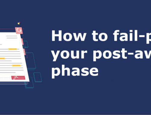 How to fail-proof your post-award phase