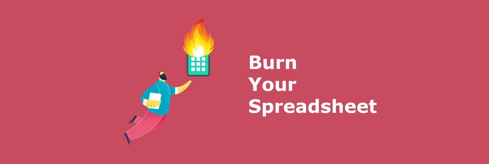 burn your spreadsheet - zendoc