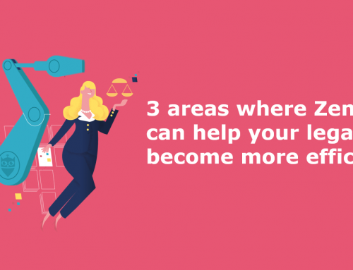 3 areas where Zendoc can help your legal team become more efficient