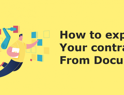 How to export your contracts from DocuSign