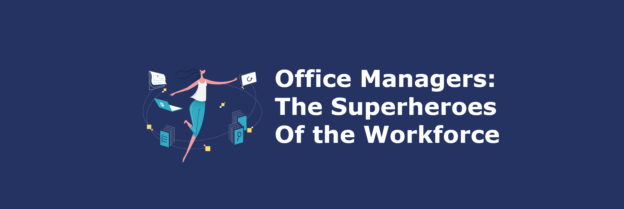office managers super heroes head zendoc