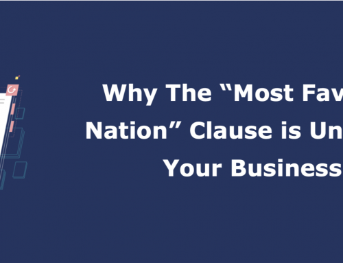 "Why the ""Most Favored Nation"" clause is unfair to your business"