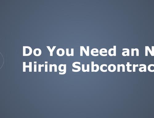 Do You Need an NDA When Hiring Subcontractors?